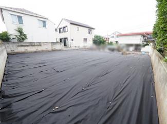 こちらの敷地は、建物プランも入れやすいです。 広々とした土地です♪ 令和3年7月26日撮影