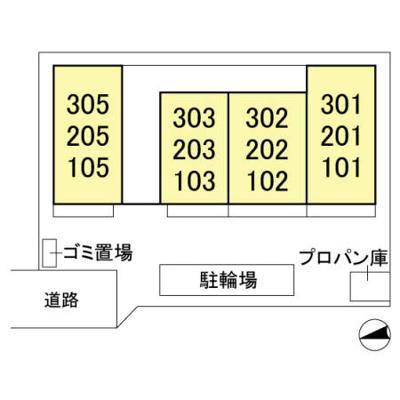 【区画図】フルール さくら