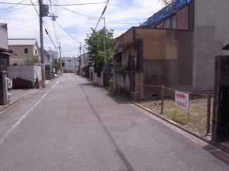 【周辺】大将軍西町 売土地