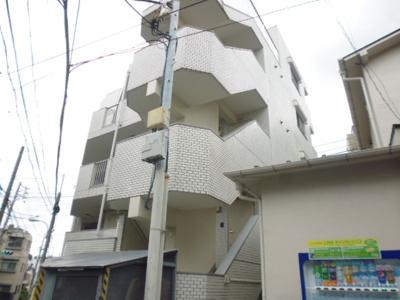 鉄筋コンクリート造のガッチリとしたお部屋。