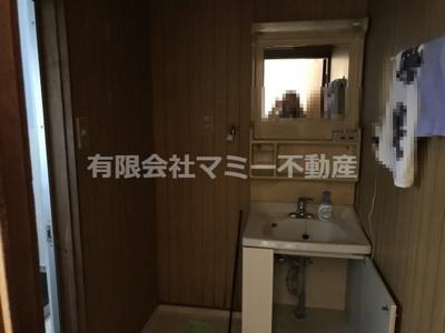 【洗面所】松本3丁目借家Y