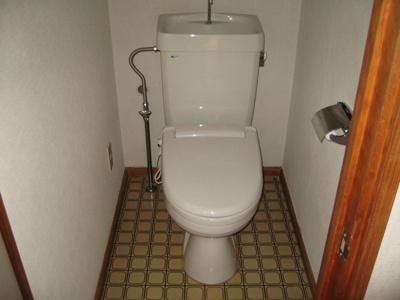 【トイレ】影山第3マンション