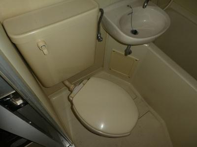 【トイレ】ヴィラ上町