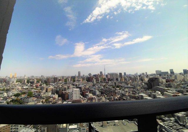 ※20階からの眺望です。【パークコート文京小石川ザ・タワー】