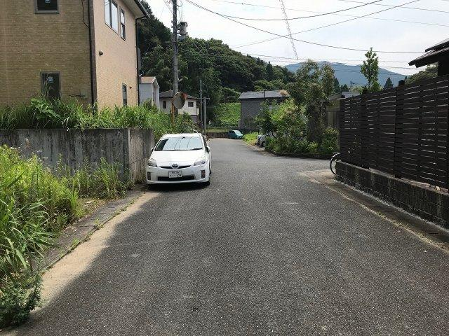 【前面道路含む現地写真】糸島市二丈深江土地
