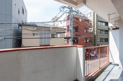 【バルコニー】四谷コーエイマンション