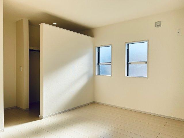 【同仕様施工例】7.75帖の洋室です。