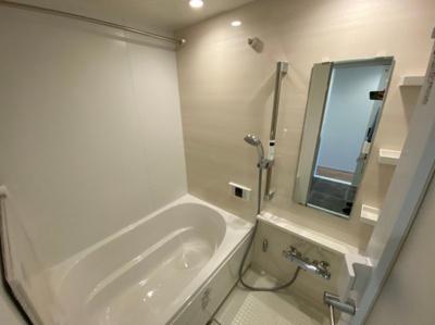 浴室乾燥も備わったお風呂です