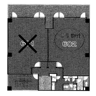T3 SHINSAIBASHI (ティースリーシンサイバシ) 間取 図面