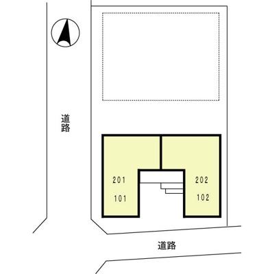 【区画図】クレール