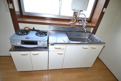【キッチン】エジリ貸住宅(棟割)B