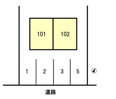 【区画図】ウッディハイツ2