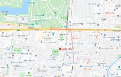 【地図】城南パークハイツ