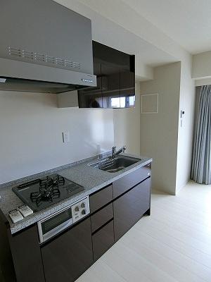 【キッチン】オープンレジデンシア新宿余丁町