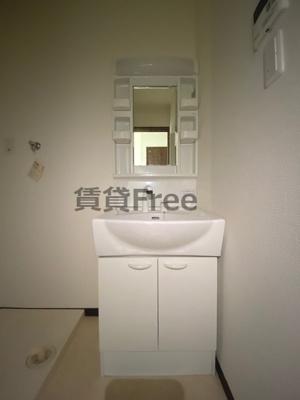 【独立洗面台】エムステージ林寺 仲介手数料無料