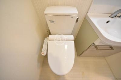 レジュールアッシュ梅田NEX トイレ