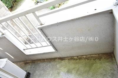 【バルコニー】エキスプレス清水ヶ丘