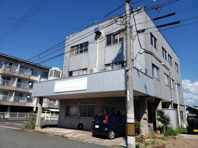 【外観】鳥取市興南町住居付事務所
