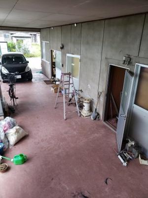 【エントランス】鳥取市興南町住居付事務所