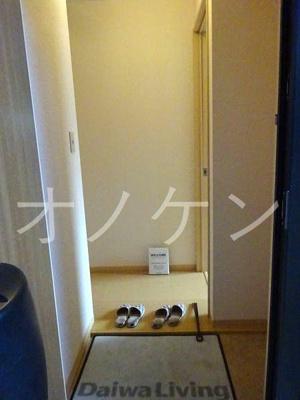 【玄関】パークハイム壱番館B棟
