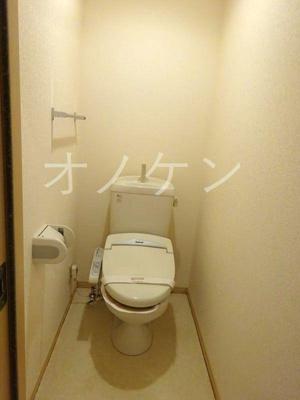 【トイレ】パークハイム壱番館B棟