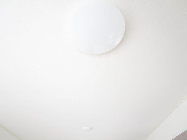 照明はリビングと全居室を新品に交換しました