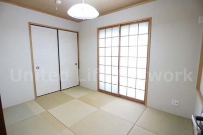 1F和室琉球畳