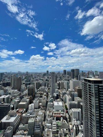 【眺望】西向きの眺望です☆42階部分の高層階になるので前建てが無く眺望良好◎