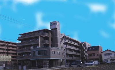 【外観】ロータリーマンションパレリヴァージュ