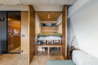 2021年7月27日 秘密基地のようなデザイン性のあるベッドルームです♪