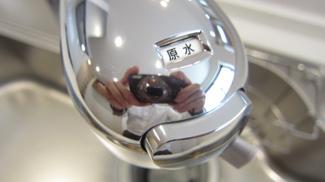 浄水器機能がついたキッチン水栓