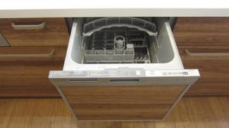 家事の時短になる食洗機がついています