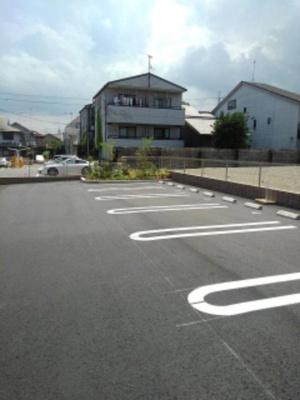 【駐車場】ミルト膳所 B