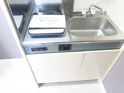 【キッチン】セントラル本八幡ビル