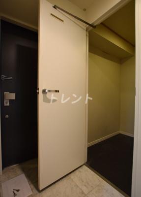 【玄関】カスタリア茅場町