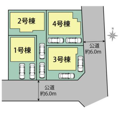 東浦町石浜中央の新築戸建て4号棟