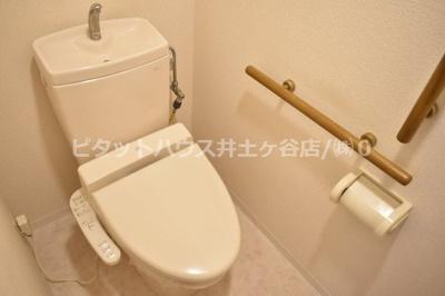 【トイレ】キャメロット上永谷