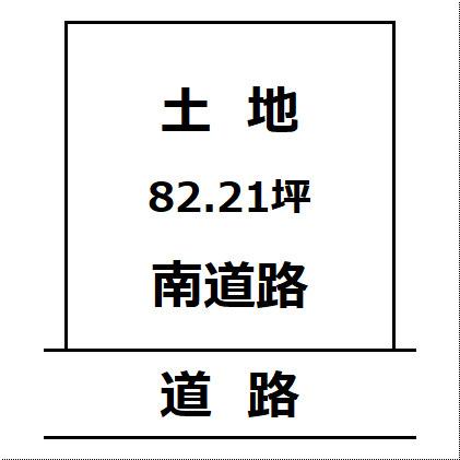 【土地図】大仙市 高梨の住宅用地 高梨小学校まで230m