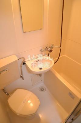 バストイレ同室です*別室参考写真です