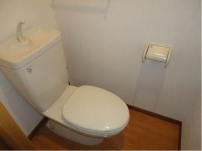 トイレは独立しています!