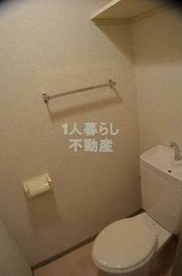 お手洗いは独立していま。す