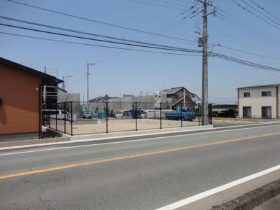 県道嘉島甲佐線からの現地写真です