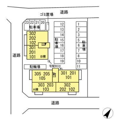 【区画図】クラレット B