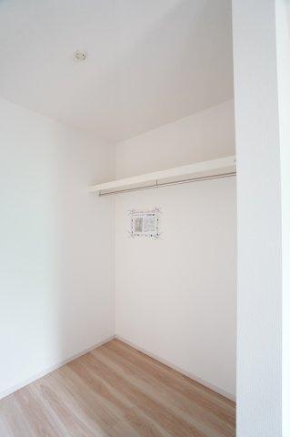 【同仕様施工例】ホールクローゼットです。