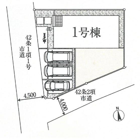 【区画図】富岡市富岡20-2期 1号棟/LIGNAGE