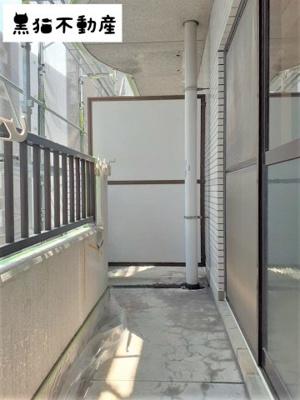 【バルコニー】シャトー村瀬II