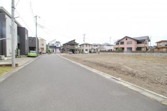 【外観】川越市小ケ谷 建築条件なし売地 診療所・店舗用地 302坪