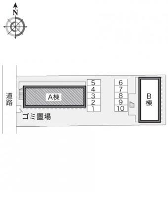 【区画図】レオパレス妻田北A