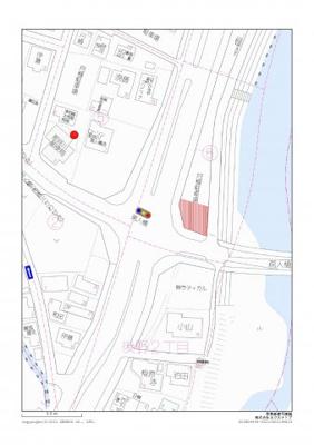 【地図】後野2丁目貸地