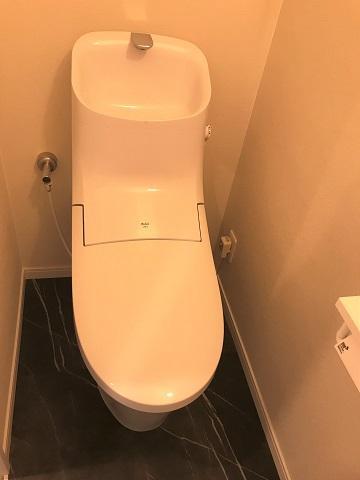 【トイレ】南薬院パークマンション